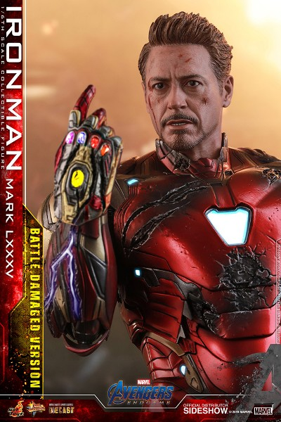 Preorder Hot Toys Marvel Avengers Endgame Iron Man Battle Damage